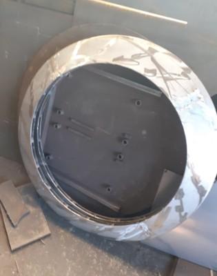 Завихритель тангенциальный горелки ГМП-16