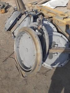 Круглый люк лаз котла в обмуровку 01.001.310.780 (ф 570)
