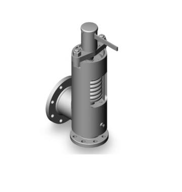 Клапан предохранительный Т-132МС ДУ80 РУ100