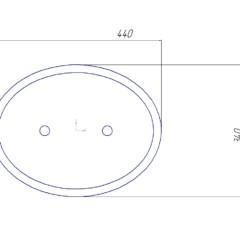 Люк лаз (крышка) барабана котла ДКВр, ДЕ, КЕ, Е, ДСЕ  440/340
