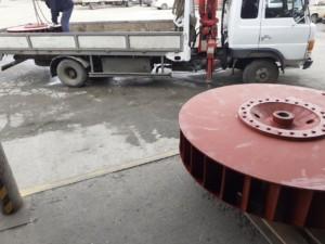 Рабочее колесо дымососа (вентилятора) Д (ВД) 15,5