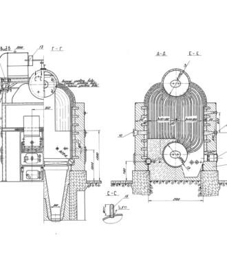 Паровой котел ДКВР 2,5-13С (ДКВР 2,5-13ГМ)