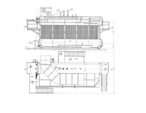 Паровой котел ДЕ-25-14 ГМ-О