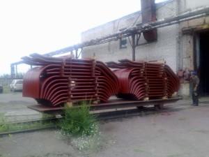 Кипятильные (конвективные) трубы котла ДКВР