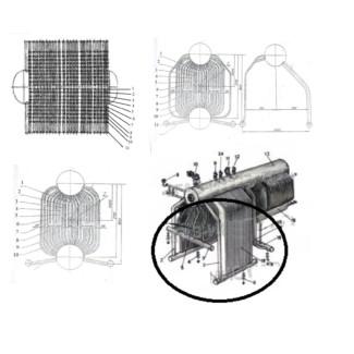 ремкомплект (запчасти) паровых котлов ДКВР