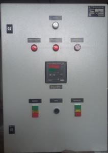 Щит управления (шкаф управления) водогрейным котлом КВР 0,15 (0,12) ручная топка