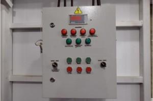 Щит управления (шкаф управления) водогрейным котлом КВР ручная топка
