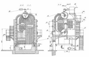 Паровой котел ДКВР 10-13С (ДКВР 10-13ГМ)