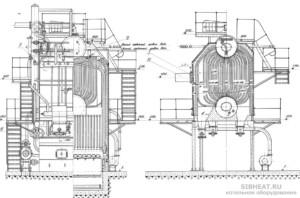 Паровой котел ДКВР 20-13С (ДКВР 20-13ГМ)