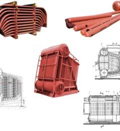 ремкомплект (запчасти) паровых котлов ДЕ-6,5-14 ГМ-О