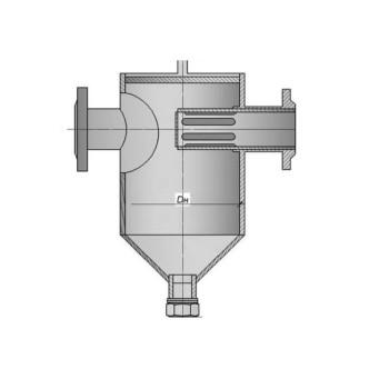фильтр грязевик (вертикальный, абонентский) фланцевый