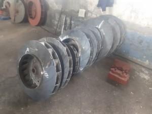 Рабочее колесо дымососа ДН (ВДН)