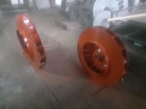 Рабочее колесо дымососа (вентилятора) ДН (ВДН) 9