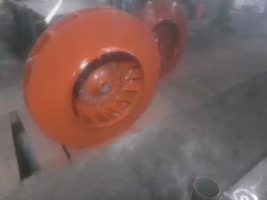 Рабочее колесо дымососа (вентилятора) ДН (ВДН) 10