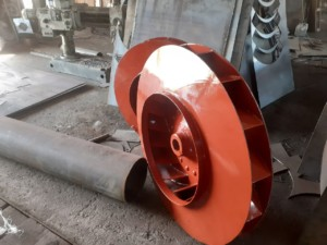 Рабочее колесо дымососа (вентилятора) ДН (ВДН) 11,2