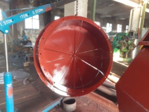 Осевой направляющий аппарат дымососа (вентилятора)ОНА