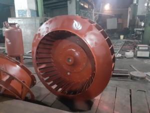 Рабочее колесо дымососа Д 12